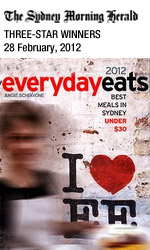 Bau Truong in The Sydney Morning Herald, Three Star Winners in Everyday Eats 2012