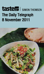 Bau Truong in The Daily Telegraph, restaurant review by Simon Thomsen