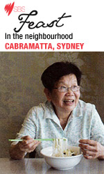 Bau Truong in SBS Feast Magazine - In the neighbourhood Cabramatta Sydney