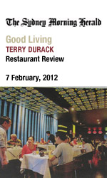 Bau Truong Marrickville reviewed in SMH Good Living by Terry Durack